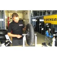 Reifenservice bei Renn- und Trainingsveranstaltungen